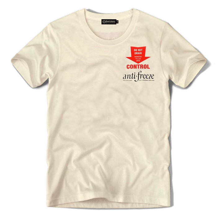overtakers anti-freeze t-shirt