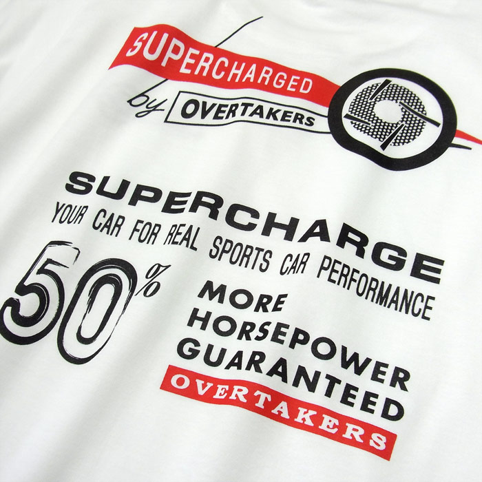 overtakers supercharge t-shirt