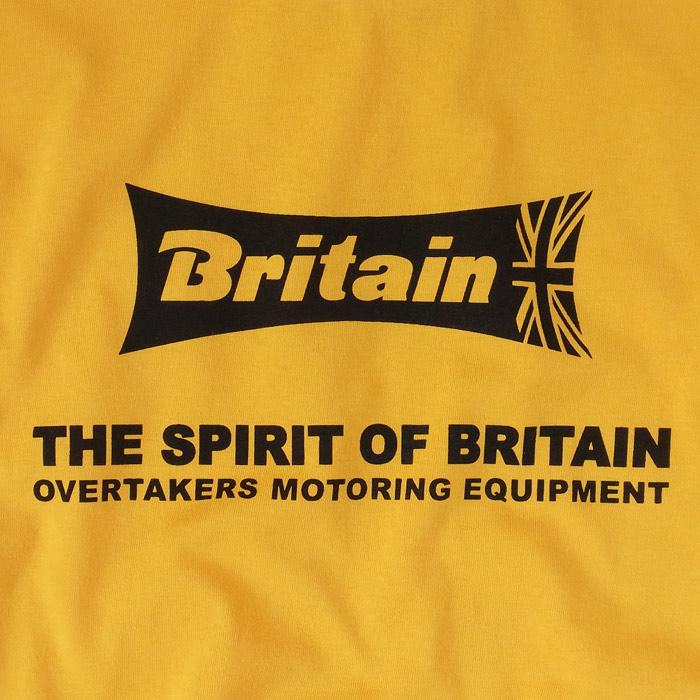 overtakers britain t-shirt