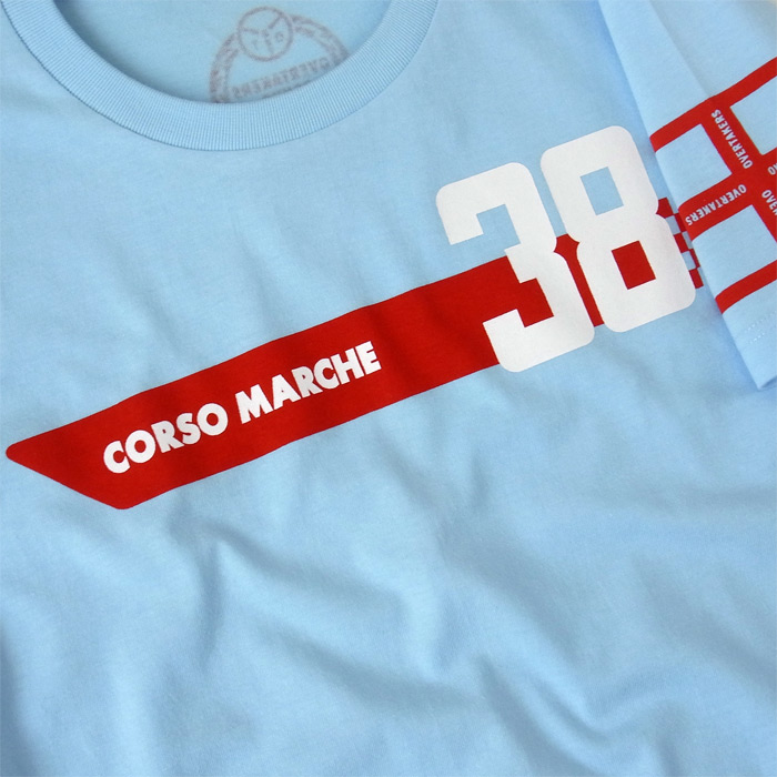 overtakers corso-marche 2 t-shirt