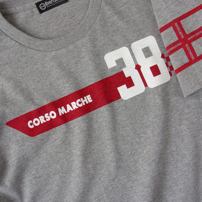 overtakers corso -marche 2 t-shirt