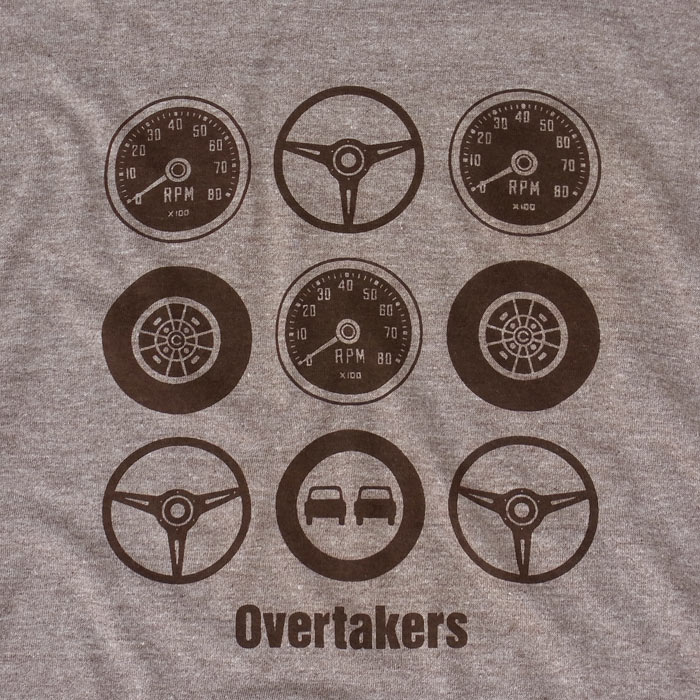 overtakers circle9 t-shirt